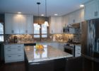 kitchen remodels with white cabinets modern stainless appliances