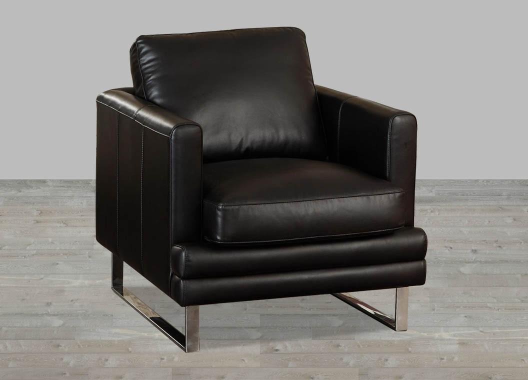 la-z-boy black top grain leather office chair