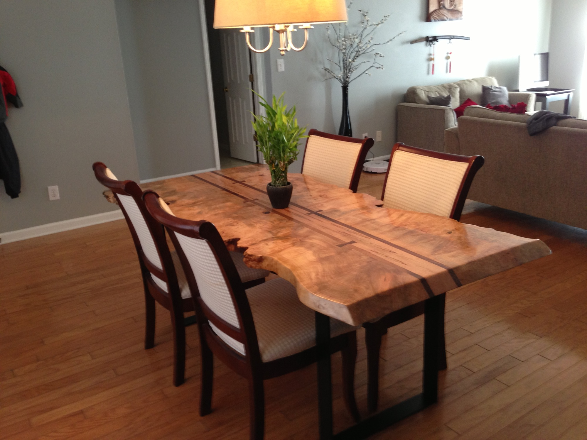 live edge dining table for sale ontario