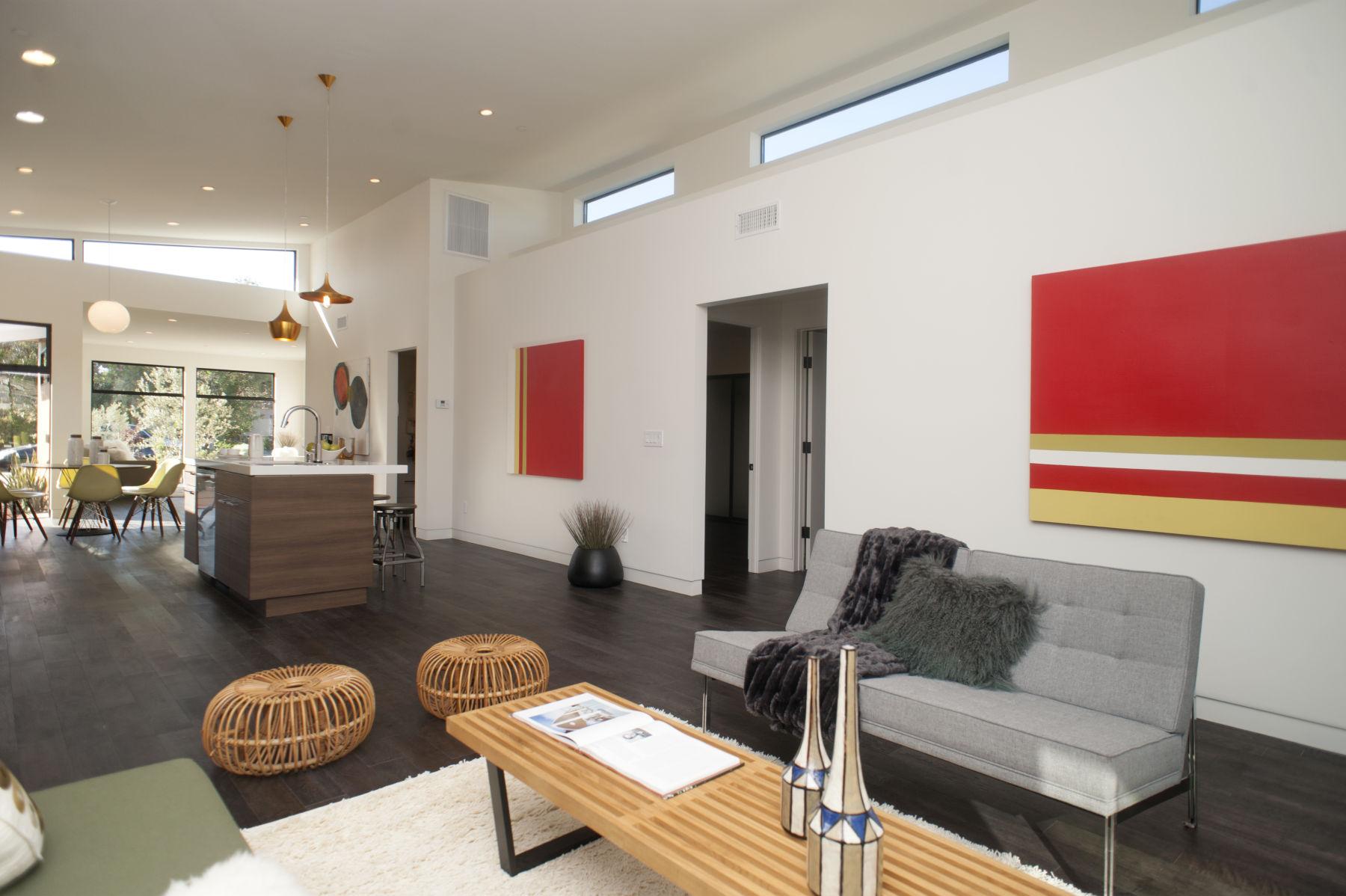Living Room Mid Century Modern Furniture Seattle Wa