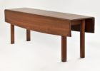 long drop leaf dining table for small spaces
