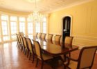 luxury extra long dining table seats 12