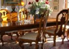 luxury rustic dining table centerpieces