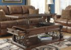 luxury solid wood lift top coffee table with storage