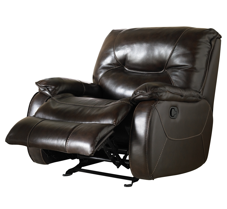 macys leather chair recliner