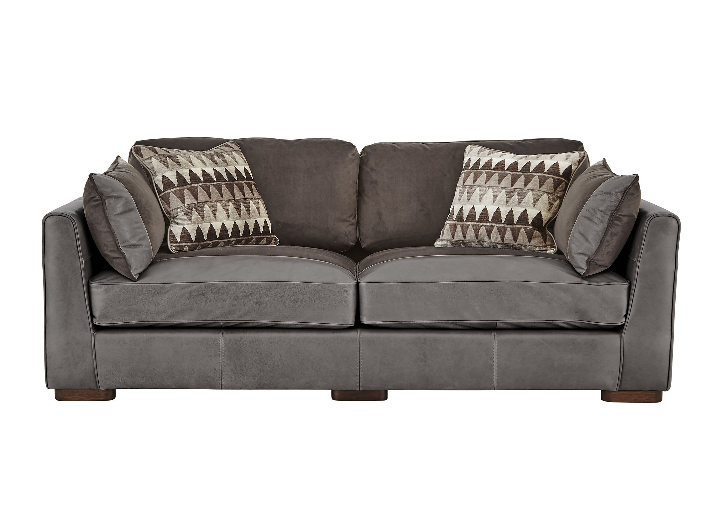 macys leather chair sofa