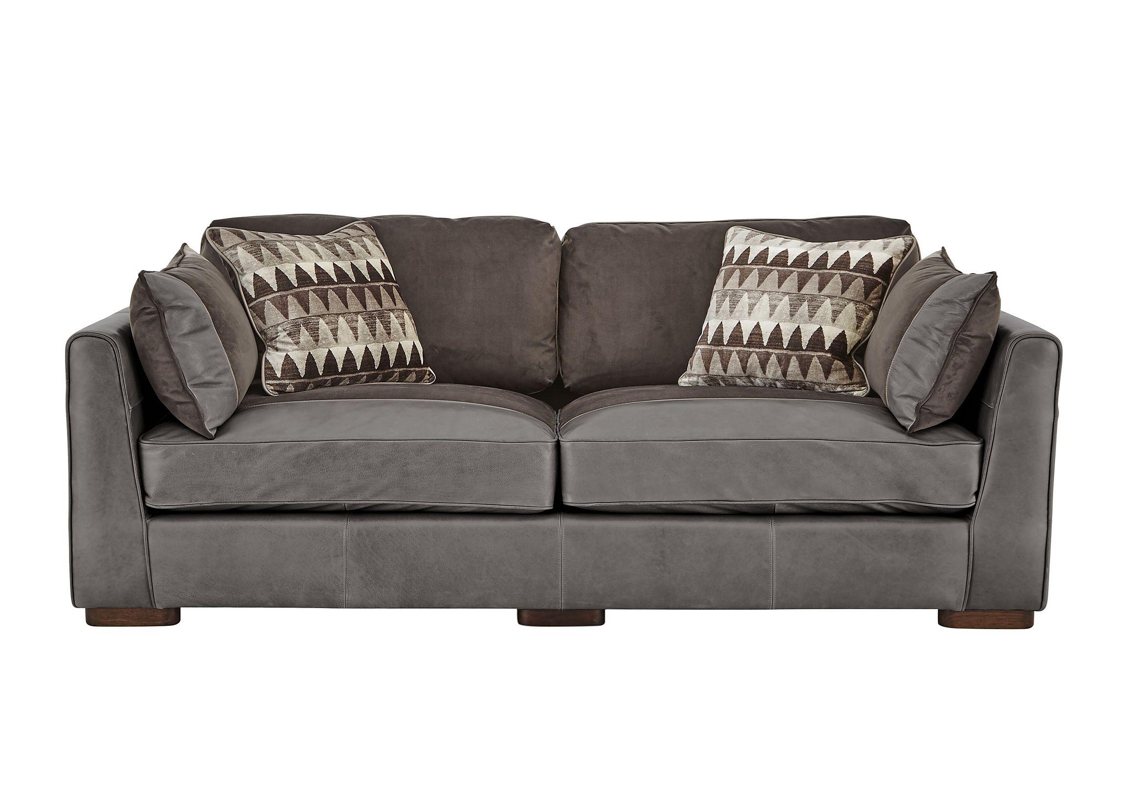 macys leather chair sofa