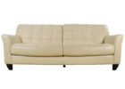 macys leather chair white couch tufted