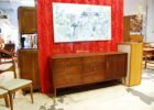 mid century furniture stores auction