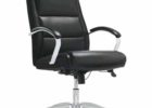 modern black realspace fosner high back bonded leather chair
