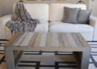 modern wood pallet coffee table for sale
