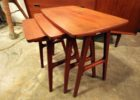 nest table mid century modern furniture san antonio