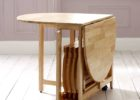 oak white drop leaf dining table for small spaces