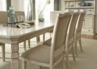 oak white wash dining room table