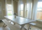 oak white wash dining room table furniture