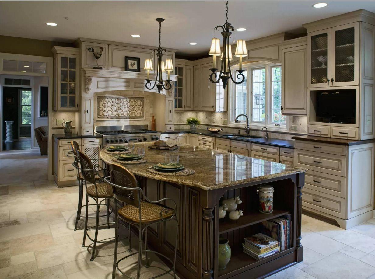Older Home Kitchen Remodeling Ideas Dark Island