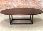 oval cherry wood coffee tables for sale