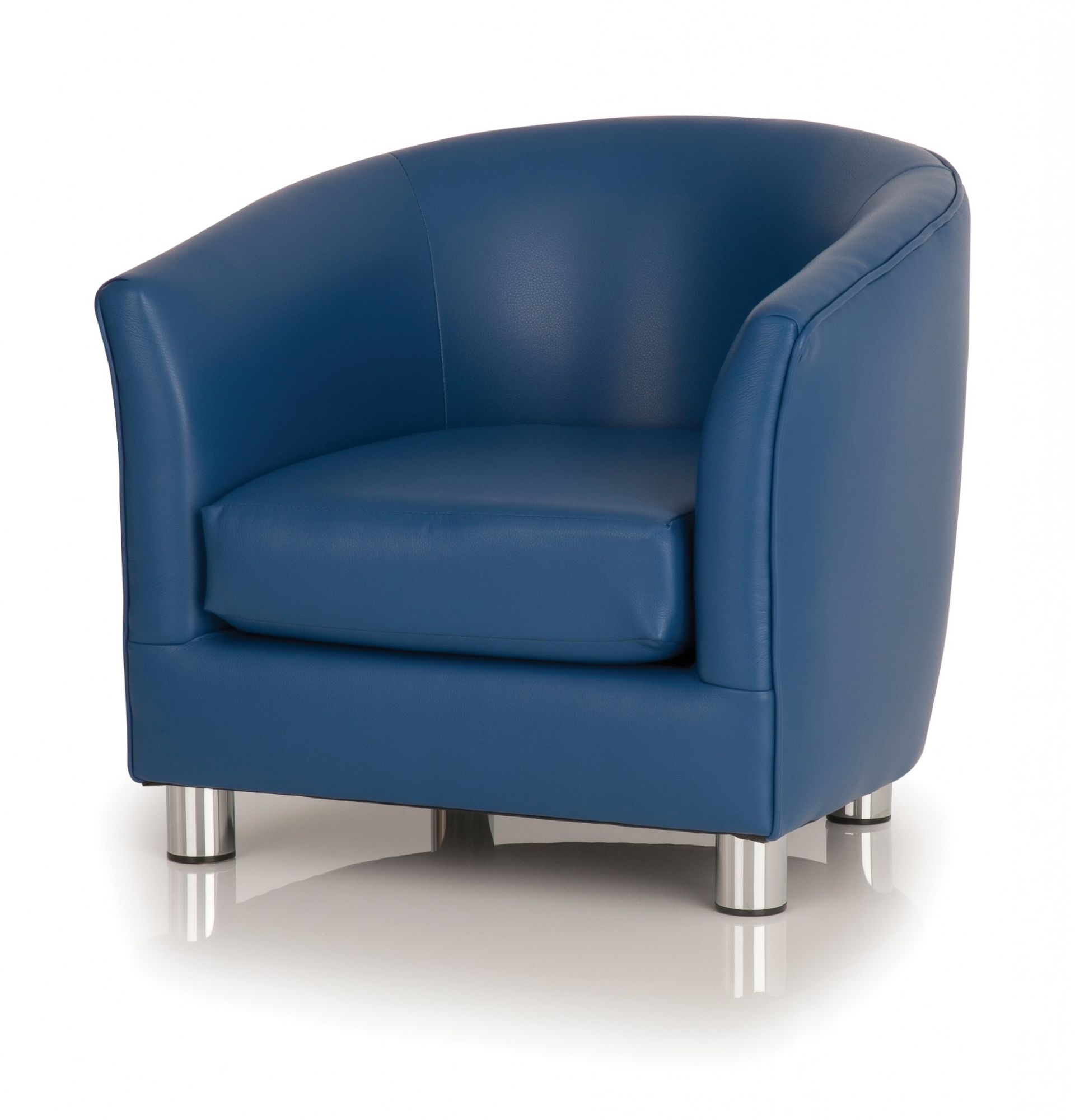 oversized teal blue leather club chair slipcovers