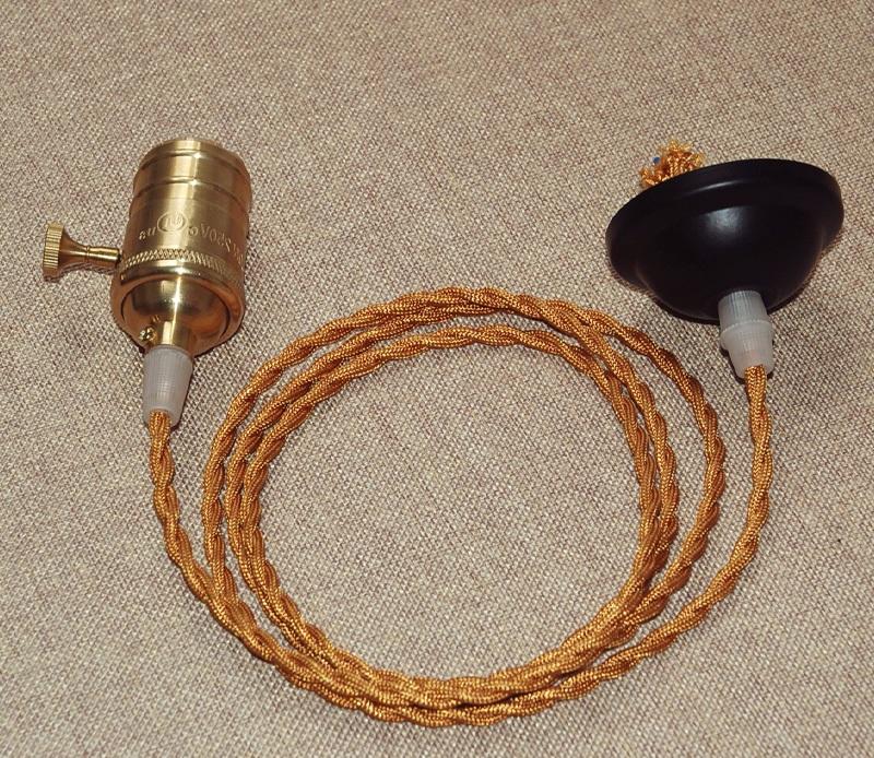 pendant light wiring kit instructions