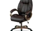 premium top grain leather office chair office