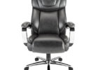 realspace fosner high back bonded leather chair furniture