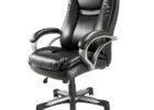 realspace fosner high back bonded leather chair recliner