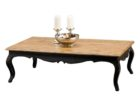 rectangular distressed dark wood coffee table designs