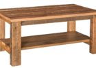 rectangular wood pallet coffee table for sale