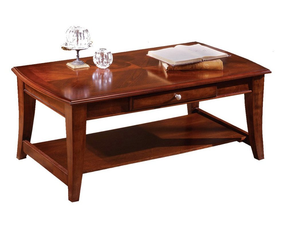 red cherry wood coffee tables for sale