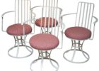 red mid century patio furniture for sale