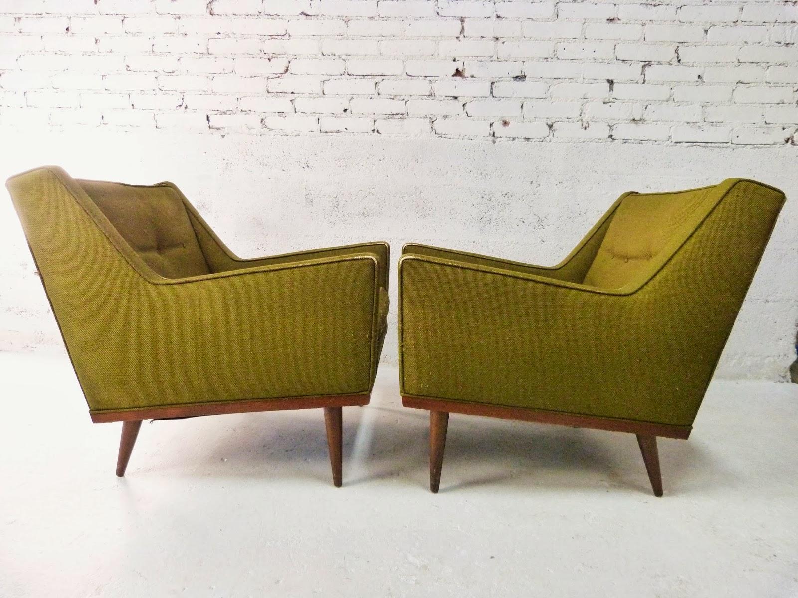 refurbished mid century furniture sets
