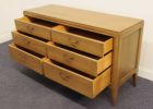 refurbished mid century furniture with drawers