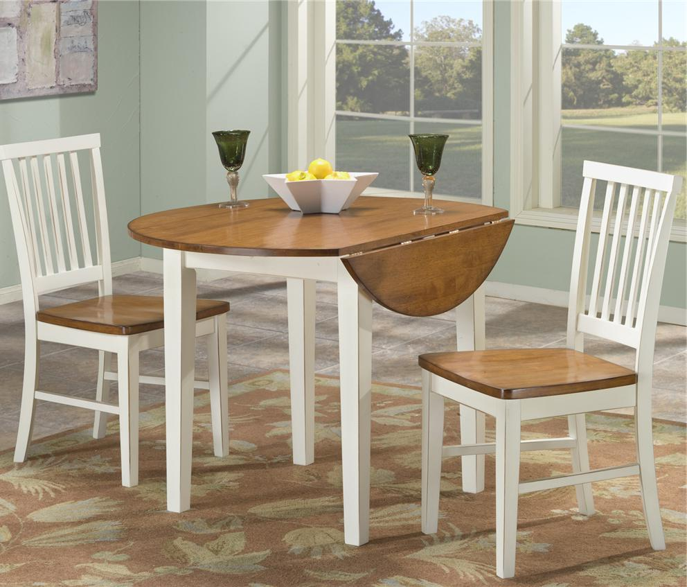round drop leaf dining table for small spaces dining room