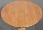 round narrow dining tables with leaves