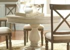 round white wash dining room table nz