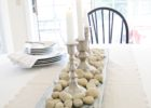 rustic dining table centerpieces decor