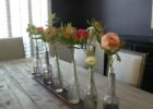 rustic dining table centerpieces ideas