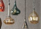 shades mercury glass pendant light fixture uk
