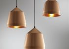 small hammered metal pendant light