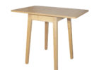 small oak white drop leaf dining table for small spaces