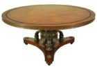 small round cherry wood coffee tables for sale