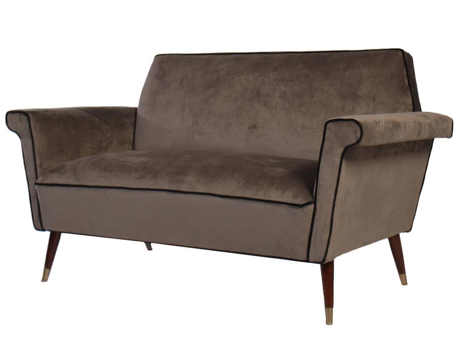 sofa mid century modern furniture seattle