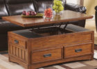 solid wood lift top coffee table design