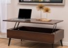 solid wood lift top coffee table with storage