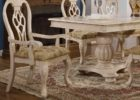 square white wash dining room table set