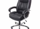 swivel realspace fosner high back bonded leather chair furniture