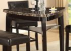 triangle dining table with bench designs