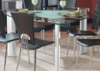 triangle dining table with bench for sale