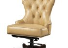 tufted brown swivel macys leather chair