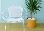 white chair mid century patio furniture for sale